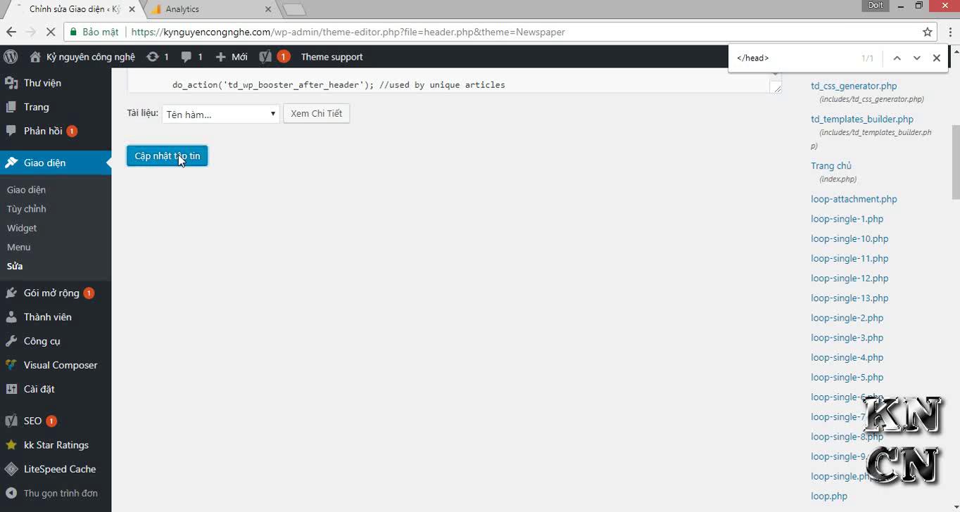 Hướng dẫn cách cài Google Analytics cho WordPress