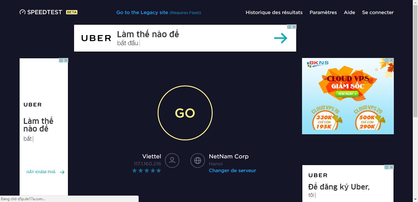 Cách kiểm tra tốc độ mạng