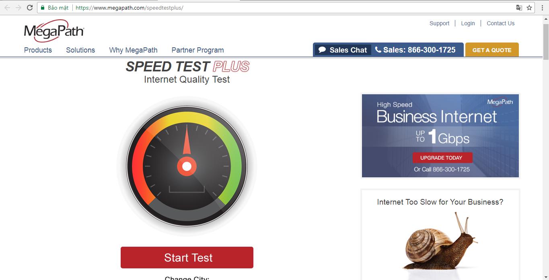 Test - Kiểm tra tốc độ mạng mình đang dùng