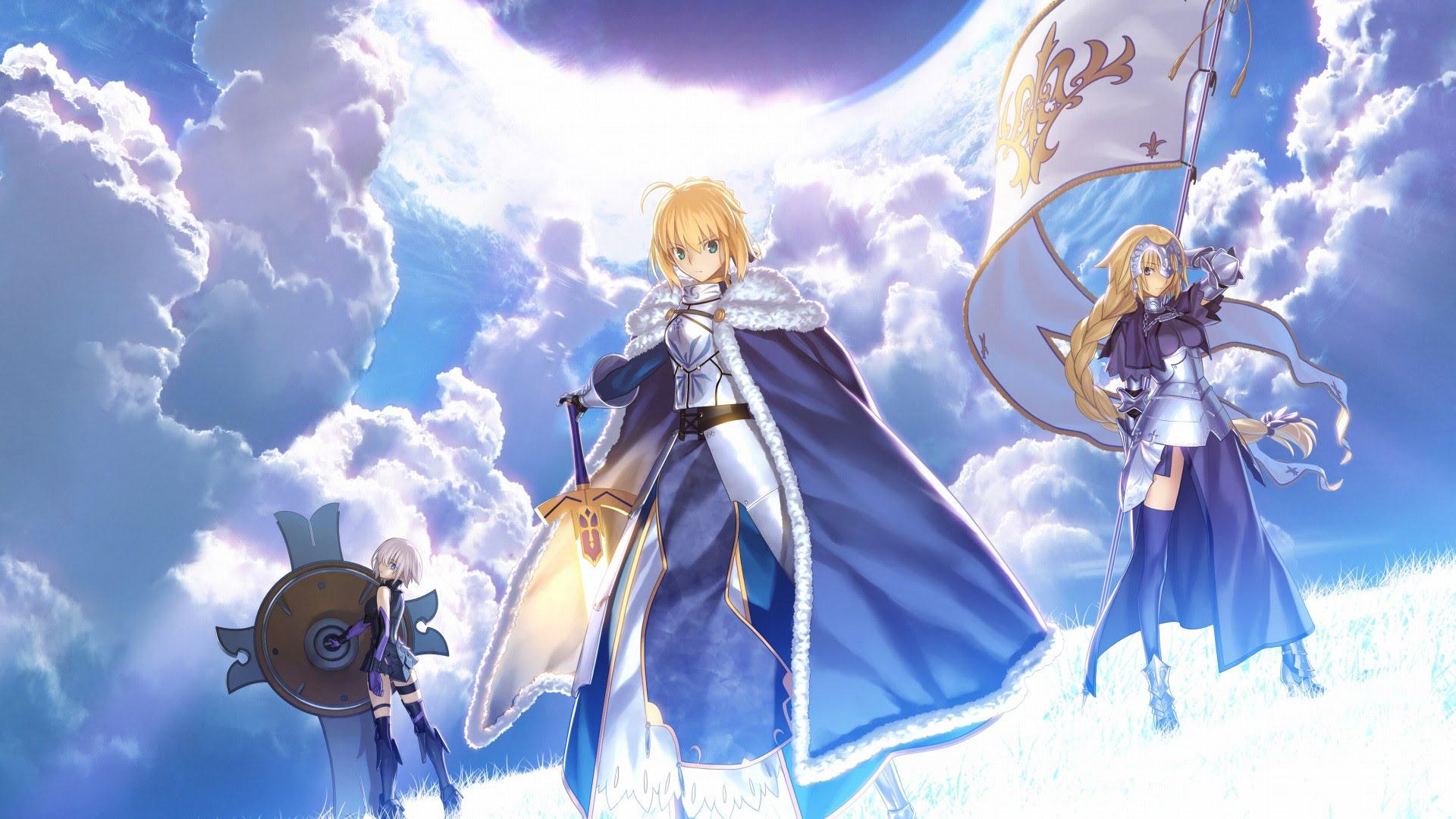 Game điện thoại hay Fate/Grand Order, vừa chơi vừa học tiếng anh