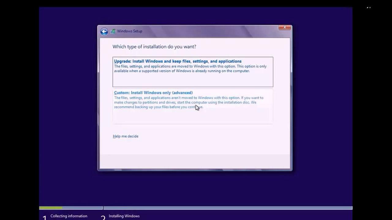 Hướng dẫn cách cài Window 8.1 cho Laptop và máy tính 1
