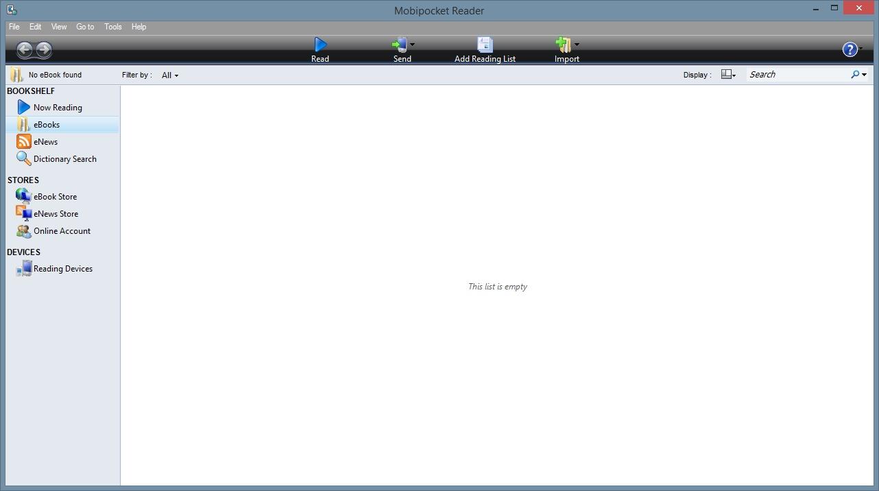 Phần mềm đọc sách, truyện cho máy tính - đọc file prc bằng Mobipocket Reader