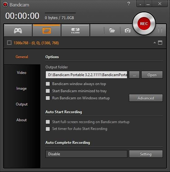 Bandicam - Phần mềm quay màn hình máy tính cực nhẹ
