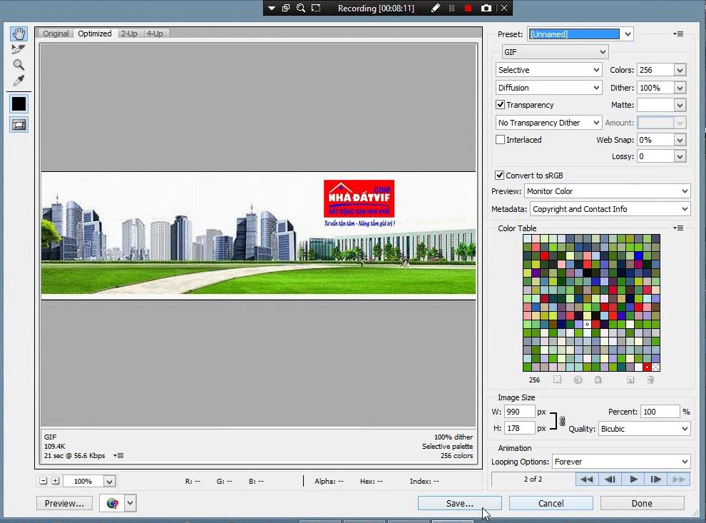 Cách tạo ảnh động GIF bằng Photoshop CS 6