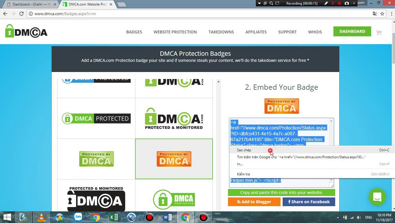 Cách lấy Backlink Dofollow chất lượng từ DMCA