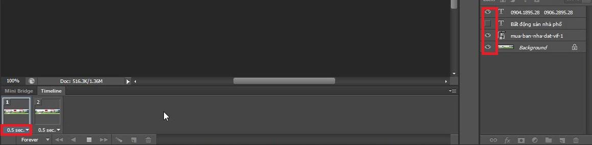 Hướng dẫn cách tạo ảnh động bằng Photoshop CS 6
